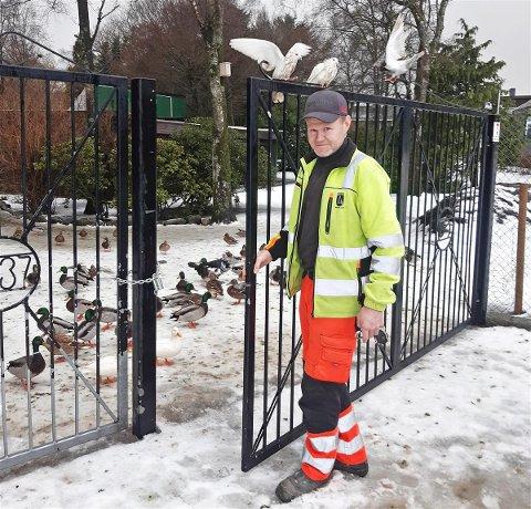 ÅPEN: Fra og med 18.januar klokken 13:30 er fugleparken på Nærbø åpnet igjen.