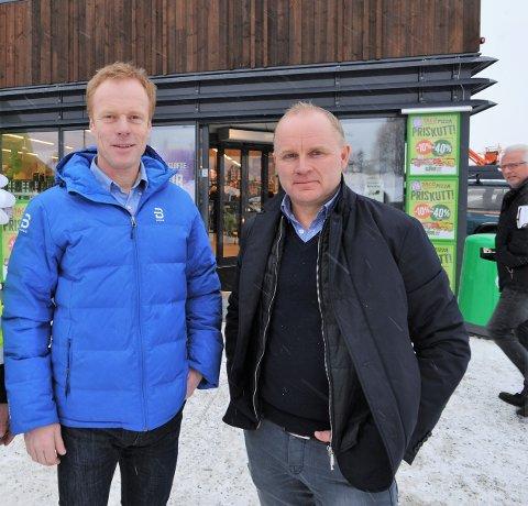 STOPP: Bjørn Dæhlie og Terje Gjeiskild har hatt en god start på Sjusjøen-prosjektet sitt. Nå er det imidlertid stopp inntil videre.