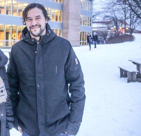 FEIL SIGNAL: FAU-leder på Borgheim ungdomsskole, Ole Hafell, mener et kutt i bevilgningen til å opprettholde gratisprinsippet i skolen er feil signal fra politikerne.