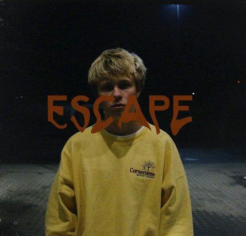 Coverbildet av «Escape» som Benjamin Schandy, eller «Jimi Somewhere».