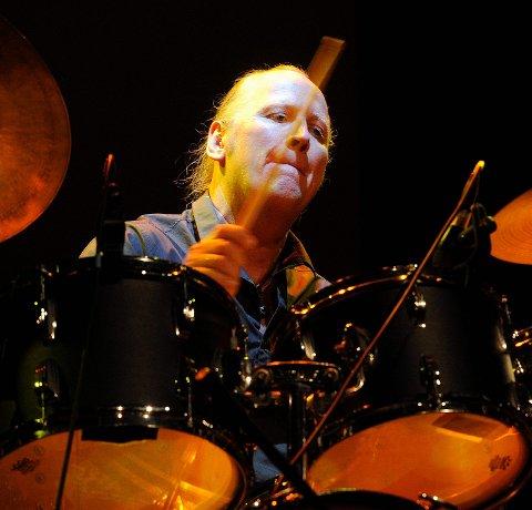 På trommer: Per Eriksen holder konsert med Zig-Zag i Thaulows & Gran Bar to lørdager i juli.