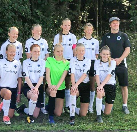 VANT FØRSTE KAMP: Krødsherads J14-årslag i Norway Cup vant første kamp.