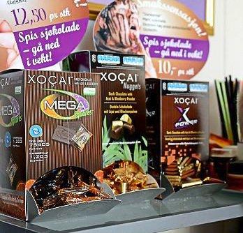 Helsesjokolade: Chico Choko solgte såkalt helsesjokolade. Nå er selskapet slått konkurs og bobehandlingen innstilt.