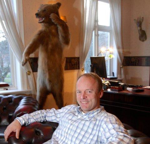 Fikk avtale med grunneierne: Carl Haakon Garder fra Halden er eier av GG Gruppen, som skal utvikle næringsområdet på Tofteberg.