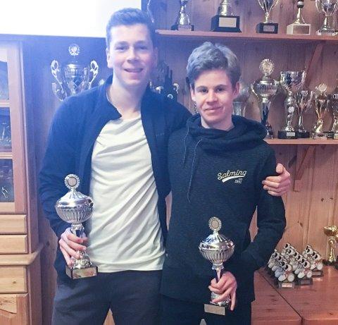 1000 POENG: Alexander Skammelsrud og Trym Tønnesen klarte begge 1000 poeng på Tyrvingtabellen.