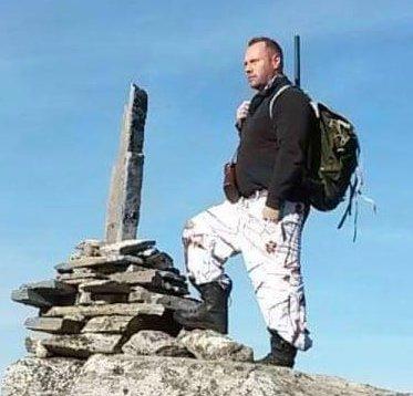 TIL FJELLS: Sigbjørn Tveita fra Røldal er glad i fjellet.