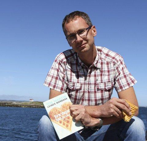 Ny roman: Tor Martin Leines Nordaas slipper 2. juli sin nye bok «Fire dager hos farmor». Foto: Hildegunn Nielsen Tjøsvoll