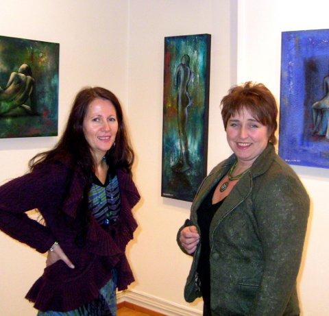 STILLER UT: Inger-Hilde Nyrud og Marianne Lillegaard har felles utstilling i november. Arkivfoto