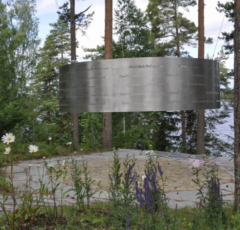 UTØYA: De som er direkte berørt har fått ro og  fred til å minnes hendelsen ved å beskue dette flotte minnesmerket, som står på Utøya, sier Atle Haglund i dette innlegget.