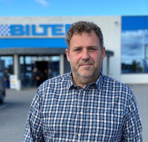 Thomas Sigvard Steen-Gundersen er daglig leder i Biltema Real Estate og har kontorsted på Jessheim.