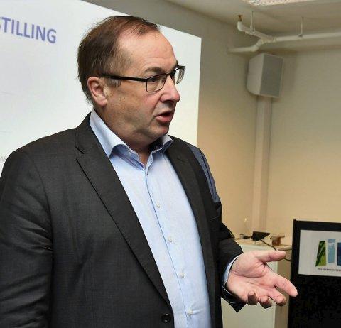 UTOLMODIG: Kor blir det av saka om matproduksjon på kvar enkelt sjukeheim? lurer Knut Førland i MDG på. Arkivfoto