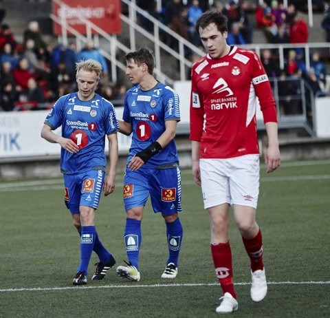 Christer Johnsgård scoret to ganger i TIL-debuten. Foto: Kristoffer Klem Bergersen