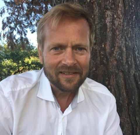 NY MANN: Engebret Dæhlin (53) er ansatt som klyngeleder i  Norwegian Wood Cluster.