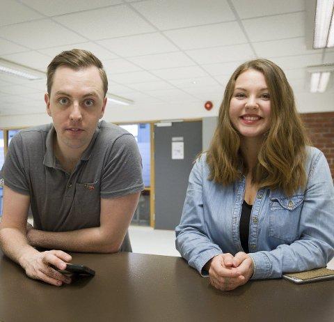 SU: Nicholas Wilkinson og Synnøve Snyen sier forslaget vil bli fremmet på fylkestinget.