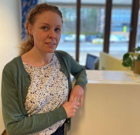 REGISTRER DEG: Konstituert kommuneoverleg Monica Viksaas Biermann ber nå alle over 18 år som ønsker vaksine om å melde seg på Helseboka.
