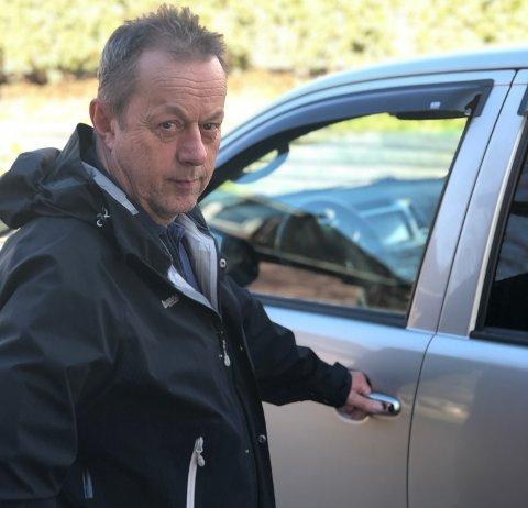 UFORSVARLIG: Willy Haugen synes det er uforsvarlig å ta toget nå, og velger bilen til jobb i Oslo.