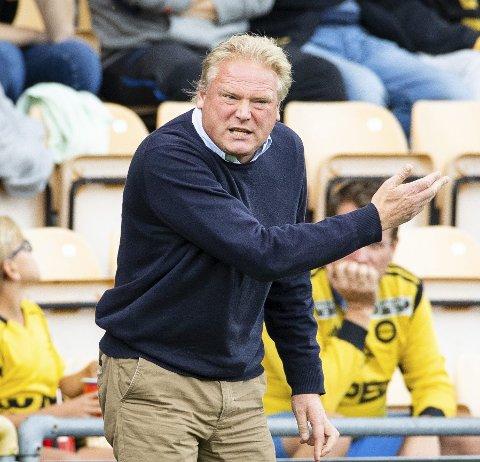 Jörgen Lennartsson er ikke så opptatt av hvem som blir motstander i cupens semifinale. Foto: Audun Braastad / NTB scanpix
