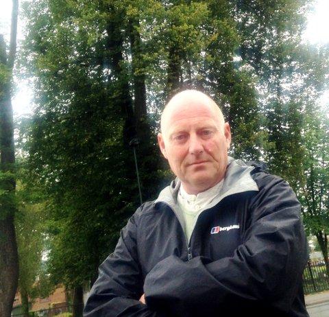 NEI: Folkevalgt Jørn Inge Næss sier et tydelig nei til vindmøller i Telemarks natur.