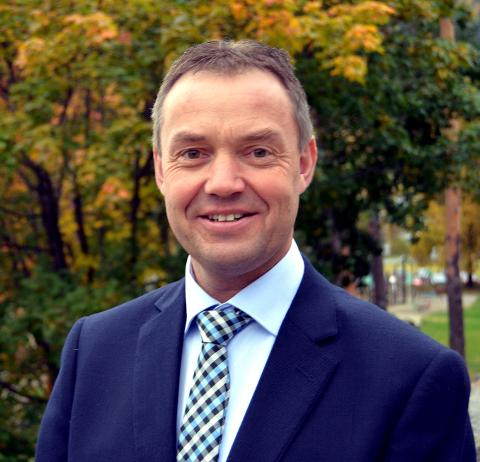 ROSER: Knut Arne Fjelltun roser både løypelagene og kommuneoverlegene for innsatsen de har gjort.