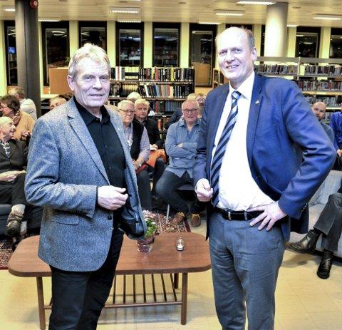 TO TOG: Et skikkelig stykke arbeid. Statssekretær Anders Werp i Samferdselsdepartementet var ærlig i sin karakteristikk av utredningen om to tog i timen til Kongsberg som SV og Arne Nævra har fått laget.