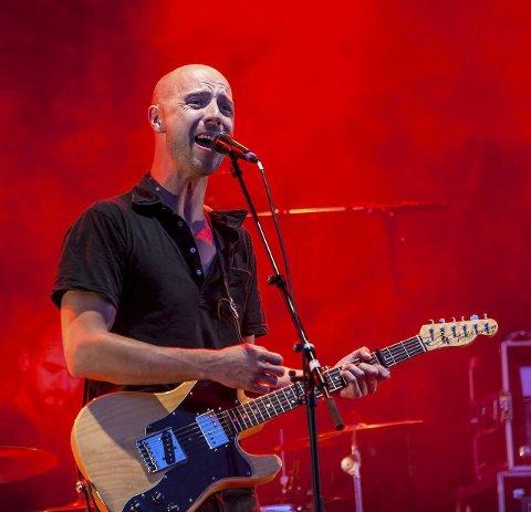 Konsert: Willes første konsertbilder ble tatt på Down on the Farm i 2007. Her er Sivert Høyem.