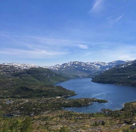 Daurmålsnuten: Fyrste punktet på turen er Daurmålsnuten. alle foto: Mariann N. Berge