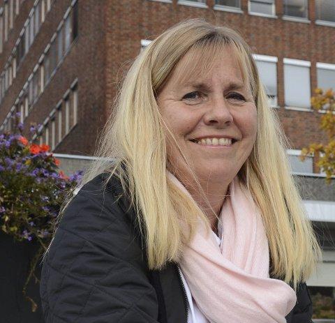 POSITIV: Anne Kristine Linnestad, gruppeleder i Ski Høyre, er glad for at Ruter nå kommer med et forslag til ruteendring på buss 522.