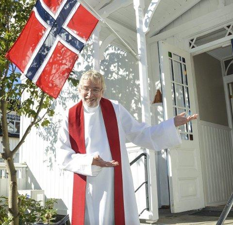 Ønsker velkommen: Døveprest Terje J. Johnsen. Alle foto: Kristin Bjørntvedt