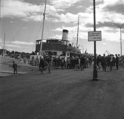 Det var plass til rundt 250 passasjerer på ferja. Var du én av dem?