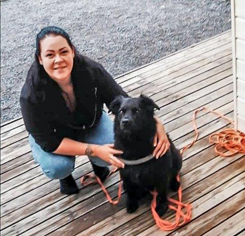 Sandra Kjenner (33) og hunden Diego får snart god plass å boltre seg på i Båstad.
