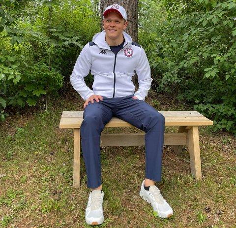 SITT STORE MÅL: Fredrik Solberg er klar for å gjennomføre målet han satte seg i 2016