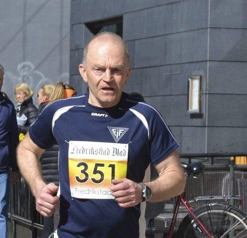 Deltok: Terje Svensson både løp og arrangerte.