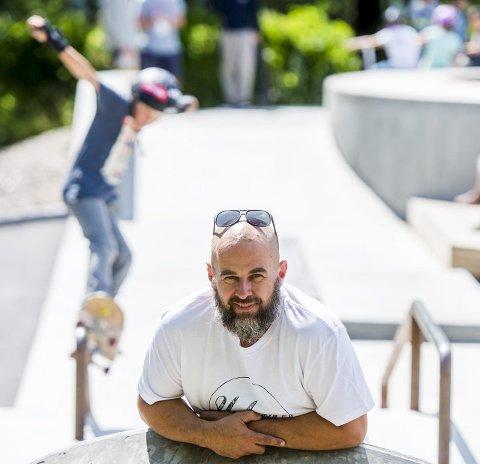 SJEF: For trettende gang er Joakim Wang ansvarlig og primus motor for NM i skateboard.