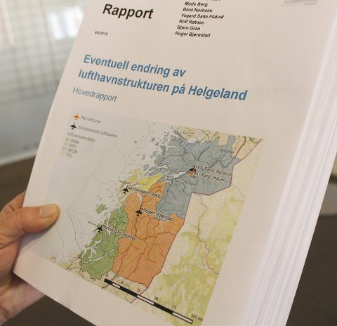 Seriøs rapport: Tom Cato Karlsen konstaterer den 132 sider lange Urbanet-rapporten er seriøs.Foto: Jon Steinar Linga