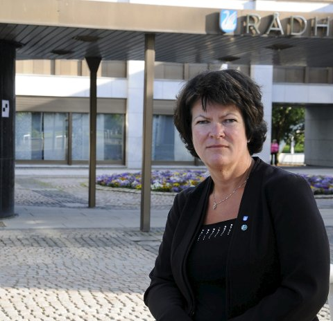 TRIST: – Det er bare trist at Globus Kafé nok engang foreslås nedlagt, mener Christin Guldahl Madsen (V).