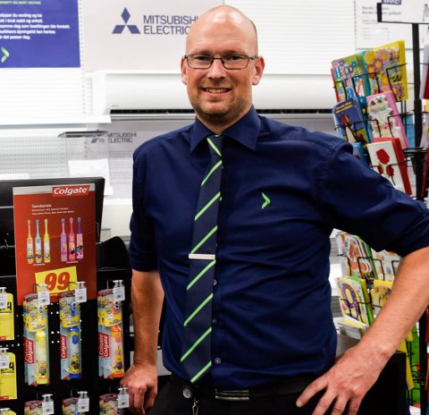 SENDTE MELDING: Varehussjef Geir Thoresen følte at Elkjøp måtte melde ifra.