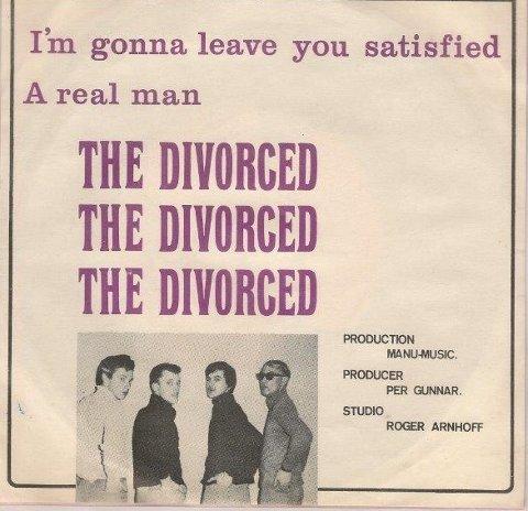 Lokalt samlerobjekt: Singelen «I'm Gonna Leave You Satisfied» av The Divorced.