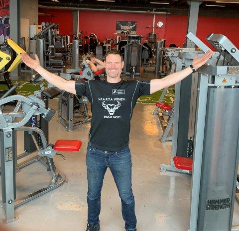 Roddy McLeod ved Sparta treningssenter kommer med et nytt sprekt tilbud til medlemmene.