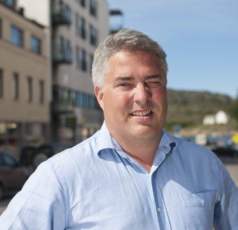 Støtter: Investor Tord Ueland Kolstad er blitt hovedsponsor for yogakonferansen og skal bli med over tid. Foto: Mads Trellevik