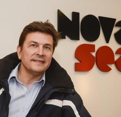 Odd Strøm, daglig leder i Nova Sea.
