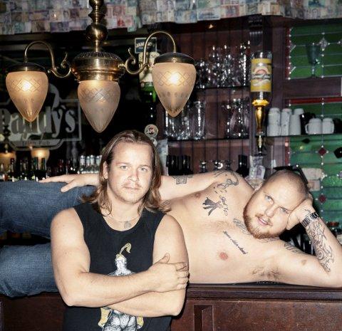 Partyduo: Staysman & Lazz kommer også til Bakgården for å skape fest og flkeliv.