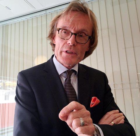 Inge Tangerås, havnedirektør.
