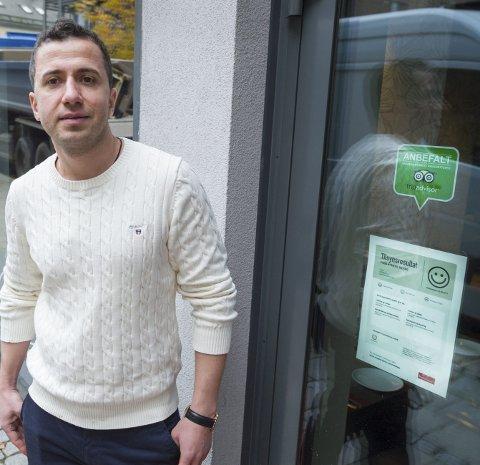 Gode tilbakemeldinger.: På tripadvisor er restauranten hans ranket som den tredje beste i Fredrikstad.