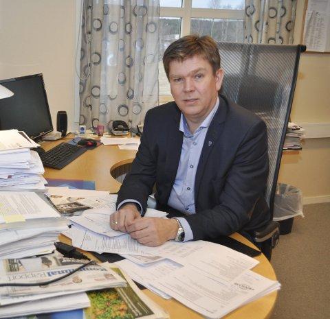IKKE I TVIL:  Geir Aarbu er ikke i tvil om at Aremark må ha ordfører på heltid.