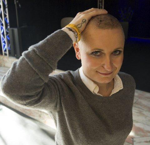 SISTE FORESTILLINGER:  – Jeg føler meg mye bedre etter hjerneoperasjonen og har bestemt meg for  at de tre forestillingene i Festiviteten i helgen blir mine siste, sier Vibeke Sørensen.