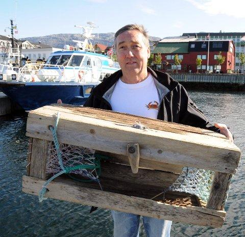 JUBILEUM: Terje Johansen er klar til åfeire VM i krabbefiskes tiårsjubileum.Foto: Tor Martin Leines Nordaas
