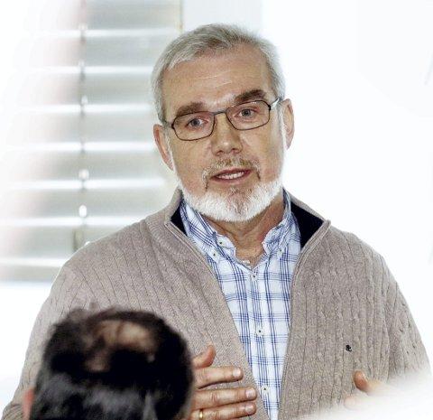 Næringssjef: Knut Johansen fornøyd med å bli nominert. Foto: Pål Nordby