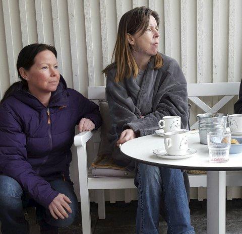 PASSER PÅ: Randi Cecilie Kjelsrud er verge for Reidun og kjemper for at hun skal få et verdig tilbud siste del av livet sitt.Foto: privat