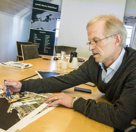 Havnesjef: Jan Fredrik Jonas.Arkivfoto: Lasse Nordheim