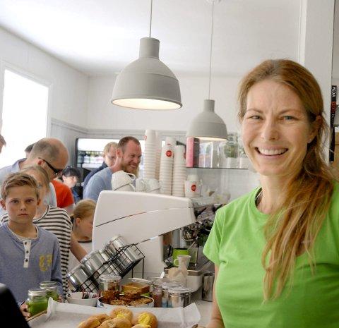 BEST PÅ TRIPADVISOR: Tone Brandsæter og Hungry Heart Cafe topper listene i Larvik. Arkivfoto.